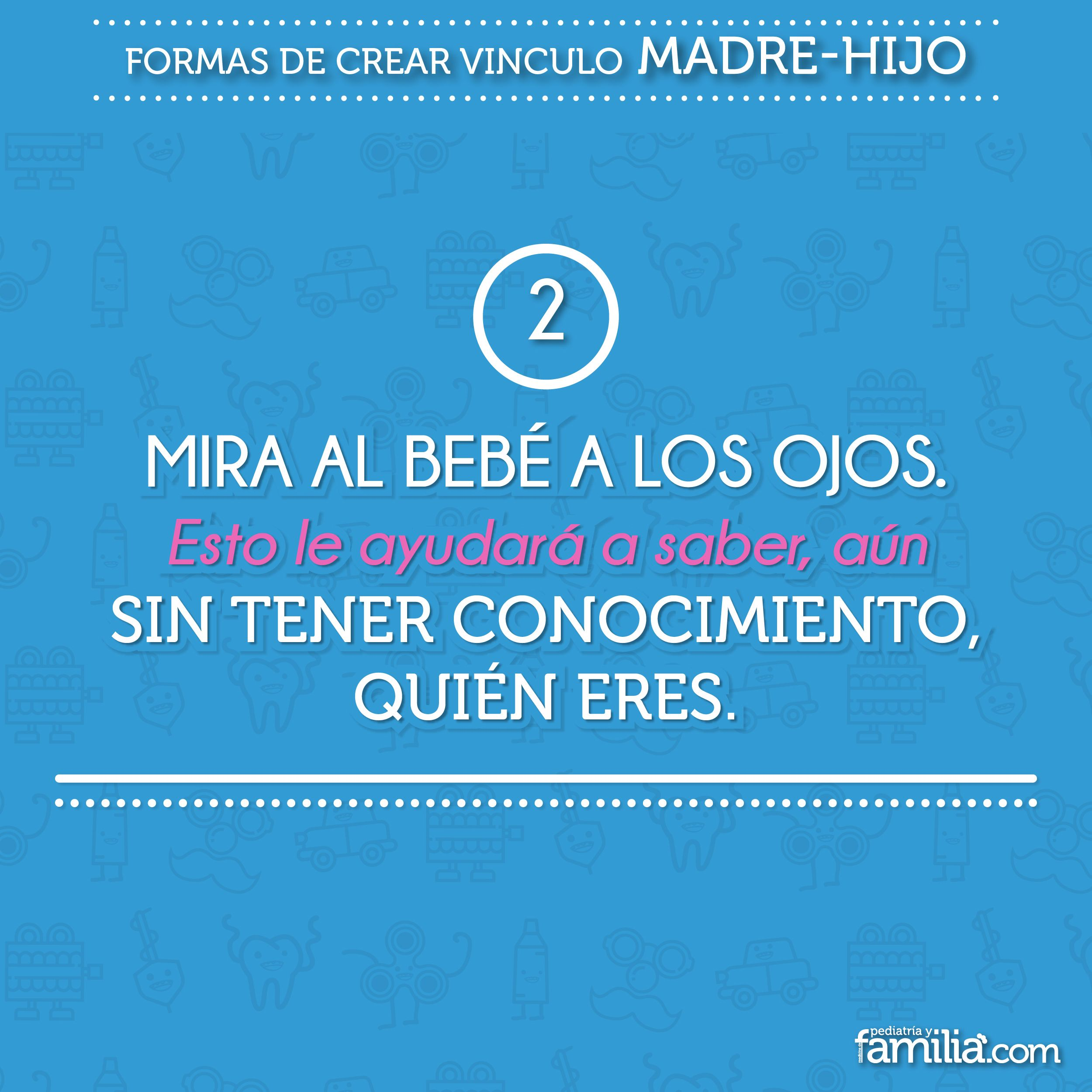 Pin by Pediatria y Familia on Formas de crear vinculo madre-hijo ...
