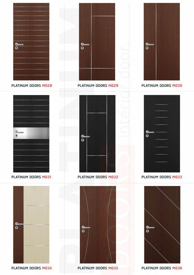 Modern Design Doors การออกแบบเพดาน ประต ภายใน ประต หน า