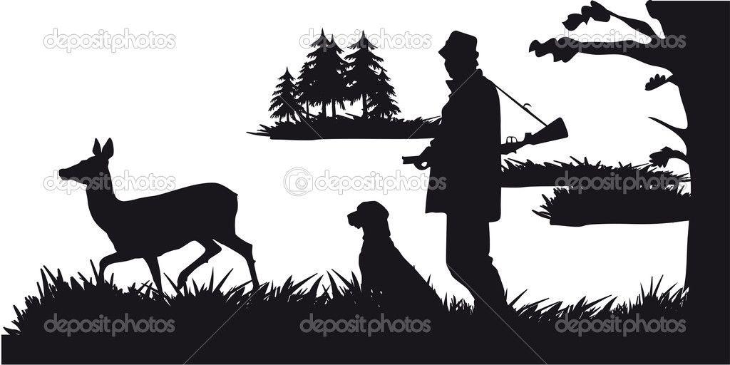 Gallery For Hunting Silhouette Hunting Decal Deer Head Silhouette Deer