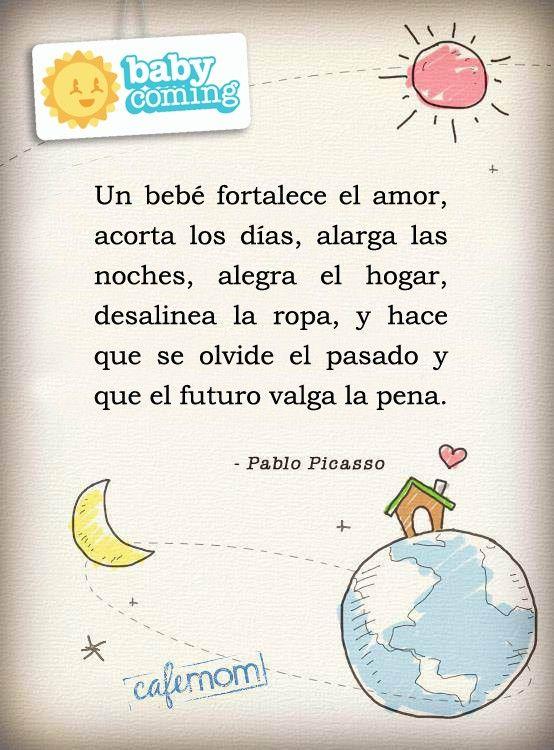 Un Bebe Fortalece El Amor Frases Para Bebes Bebe Y