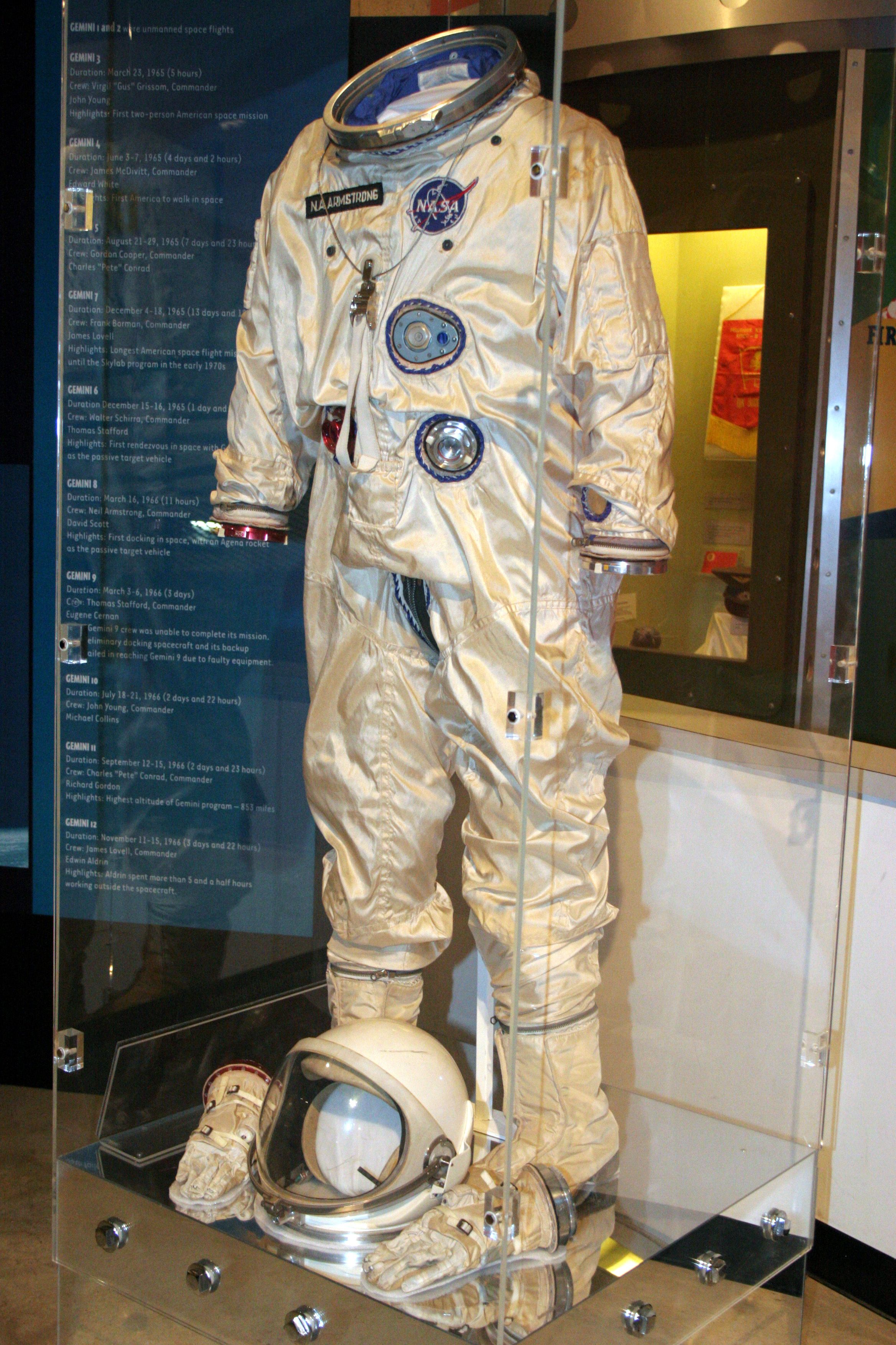 7dbba7433c Neil Armstrong-Gemini 8 suit