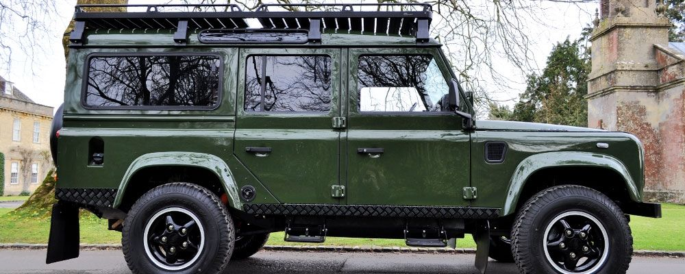 land Rover defender d90 and d110 for sale in the usa and