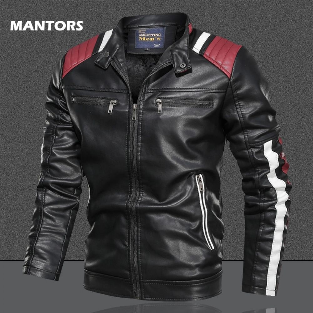Coats Street Slim Fit Bomber Jacket Fitted Bomber Jacket Winter Leather Jackets Leather Jacket Men [ 1000 x 1000 Pixel ]