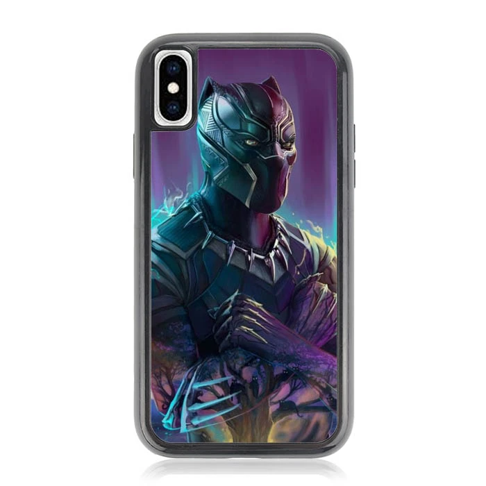 Black panther Wallpaper O6663 iPhone XS Max Case di 2020
