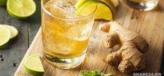 Τζιτζιμπύρα: Δροσιστικό Ποτό που Προλαμβάνει Καρκίνους, Θεραπεύει Αρθρίτιδα & Στομάχι
