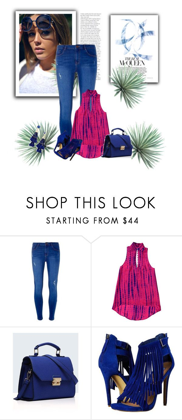 """""""Untitled #1"""" by dzanab ❤ liked on Polyvore featuring Dorothy Perkins, Relaxfeel, Steve Madden, BaubleBar and Agave"""