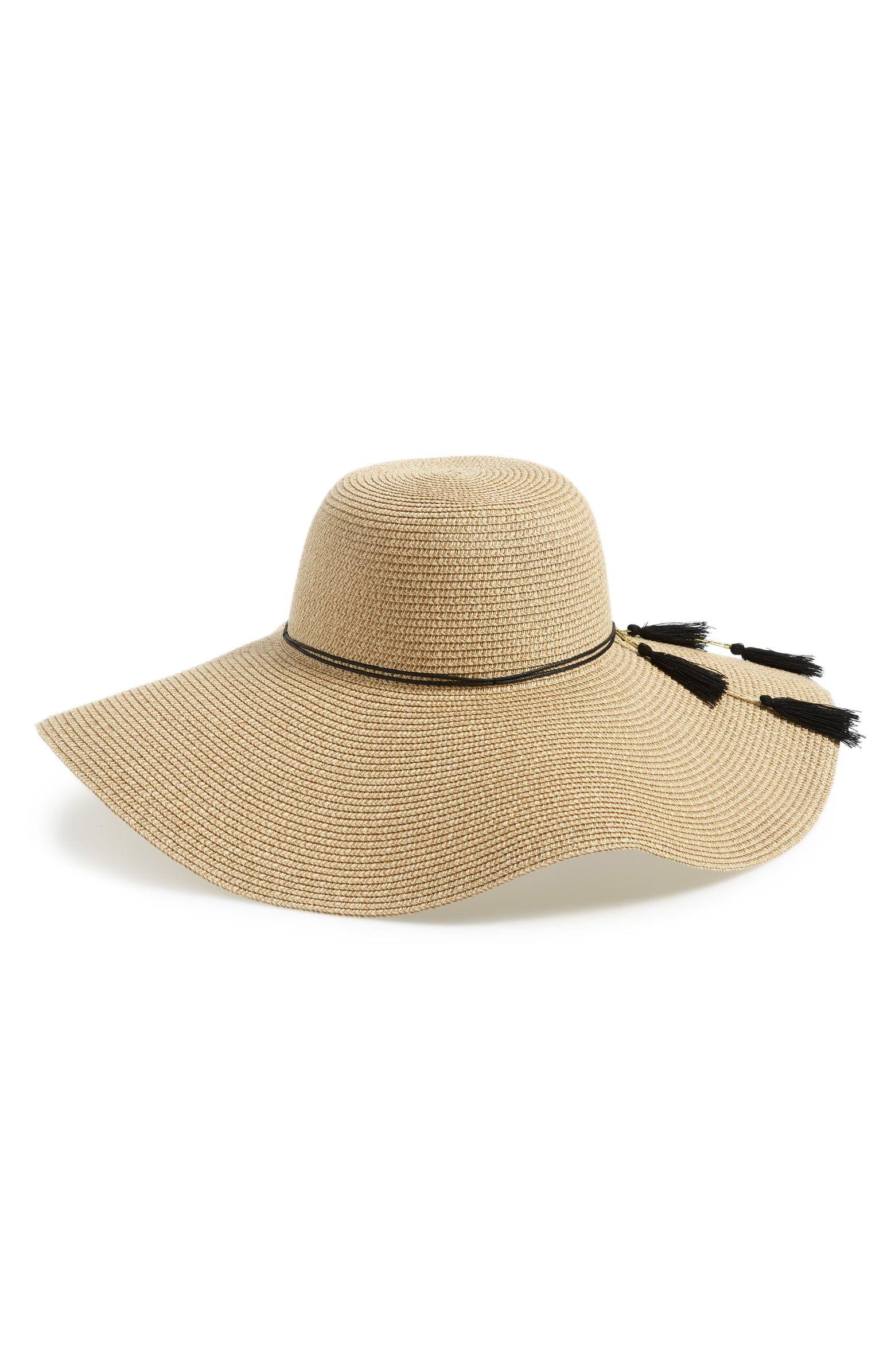 9fa0d4b0 Shiraleah Hermosa Floppy Brim Straw Hat | Nordstrom | Clothing For ...