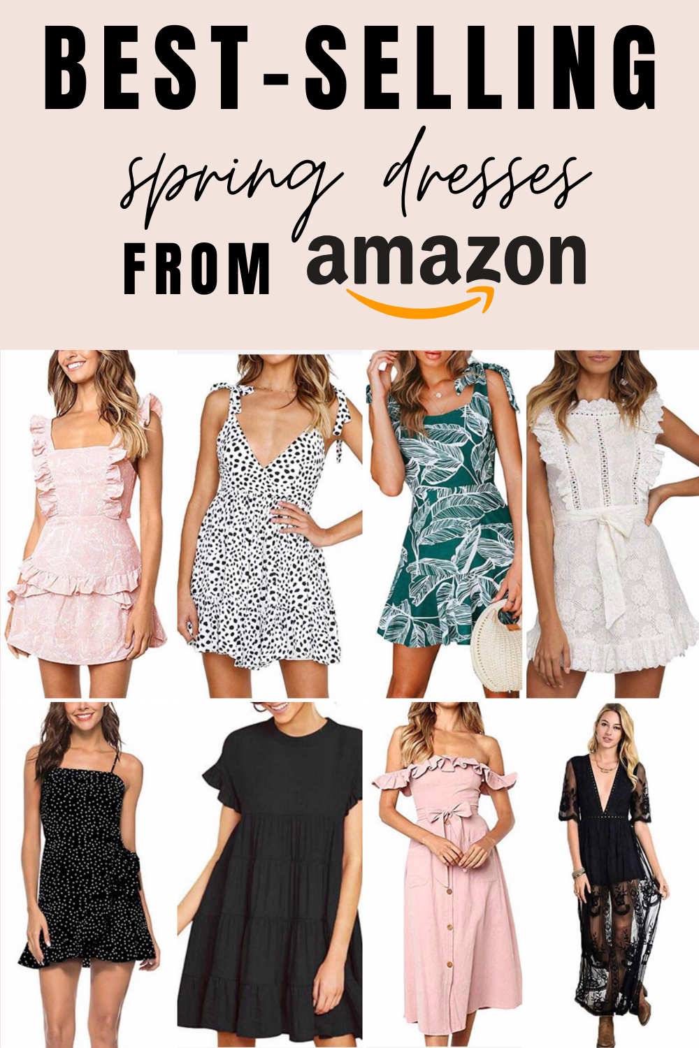 Best Selling Spring Dresses From Amazon Best Amazon Dresses For Spring In 2020 Amazon Dresses Summer Dresses Trendy Spring Outfits