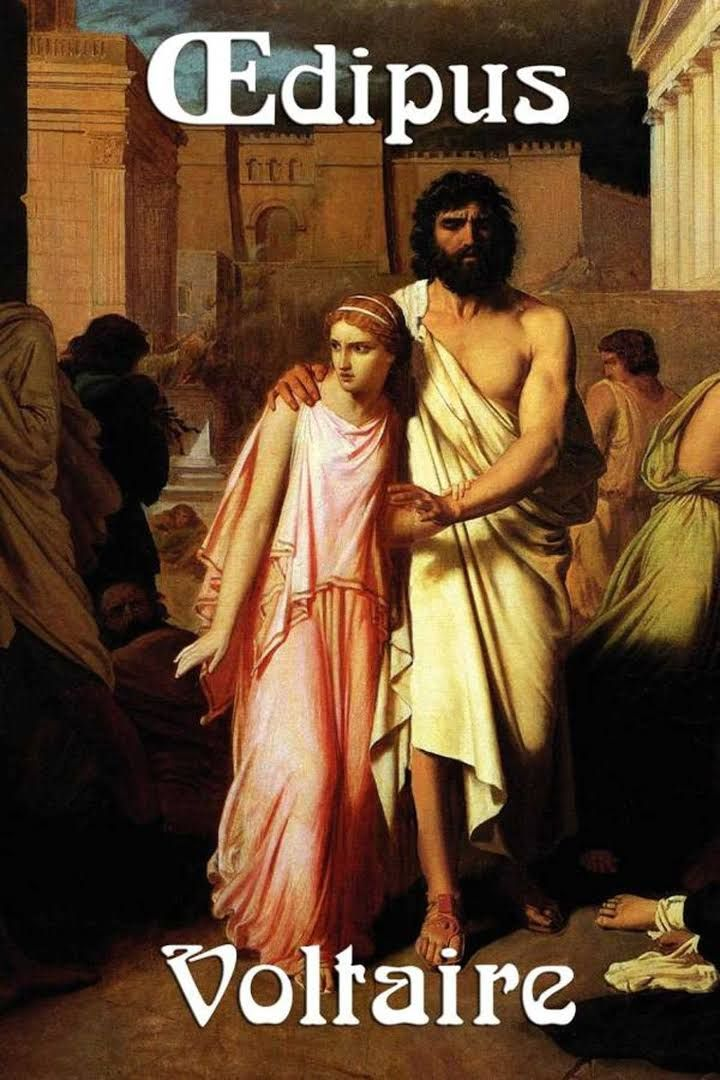 This is one of my most famous plays, Oedipus. I wrote this play to show the motivation of the characters and how the people watching should be inspired to not give up and keep on believing in what they thought was right.