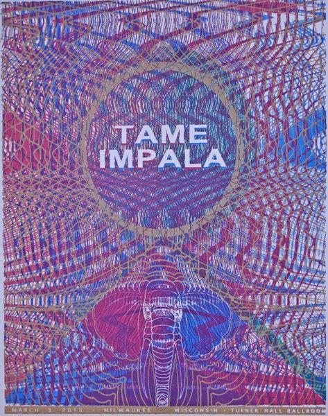 Tame Impala Tame Impala Gig Posters Music Artwork