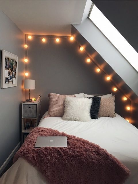 25+ Most Stylish Tumblr Bedroom For Teens Decorating Ideas -   18 room decor Small bedroom