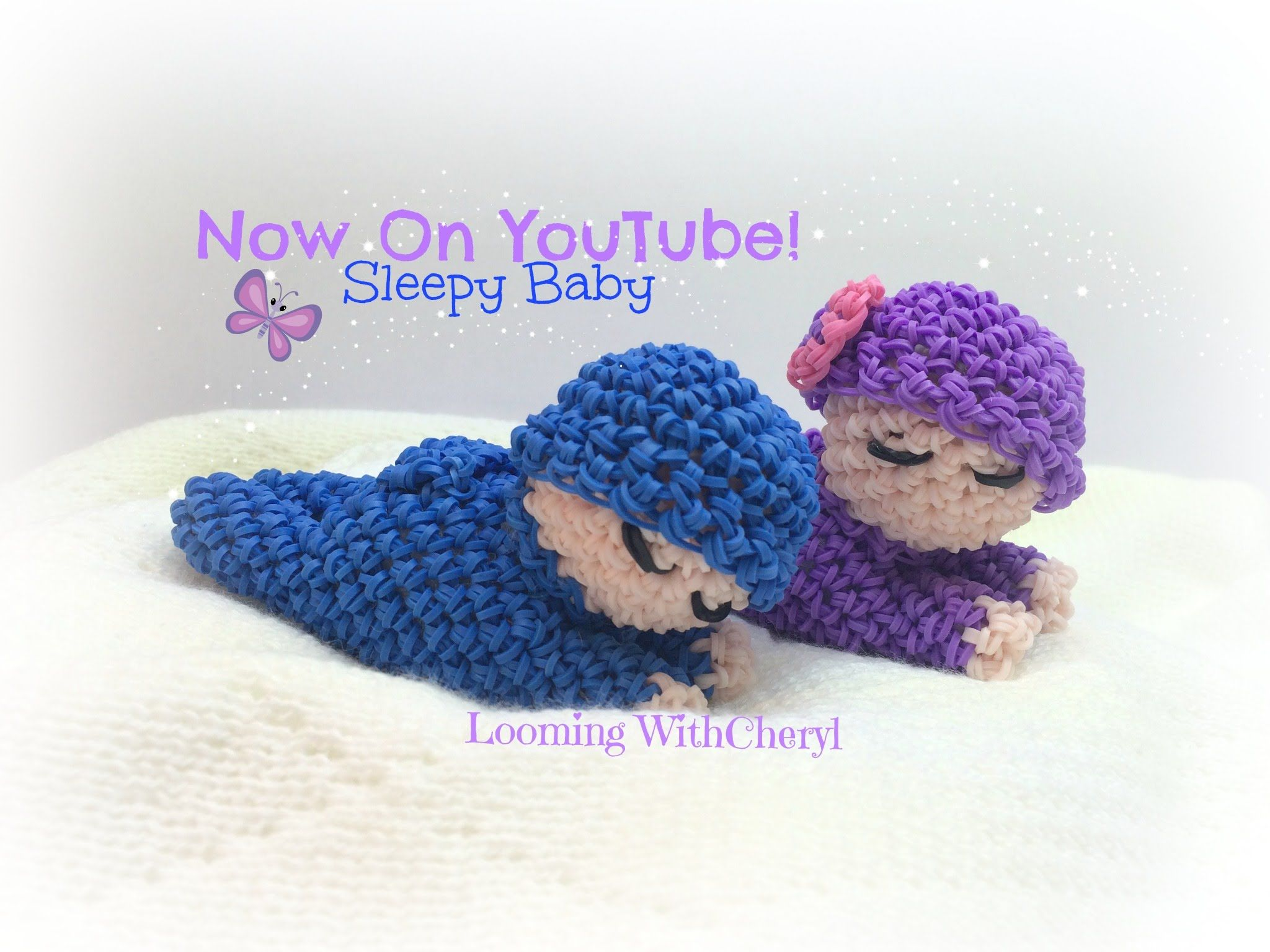 Amigurumi Loom Patterns : Rainbow loom sleepy baby doll loomigurumi amigurumi hook only детка