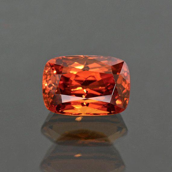 Gorgeous Fiery Orange Spessartine Garnet Gemstone by KosnarGemCo