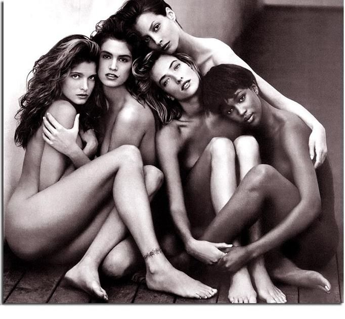 80 s style nude models
