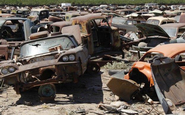 Turners Auto Wrecking >> Turners Auto Wrecking Fresno Junkyard Barn Find 123 In
