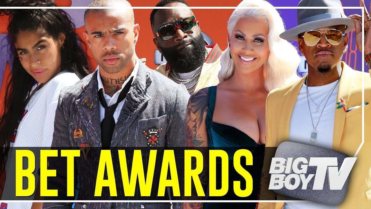 Rick Ross, Amber Rose, Vic Mensa & More at The BET Awards