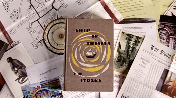 S Le bateau de Thésée (The Ship of Theseus) de JJ Abrams et Doug Dorst 02
