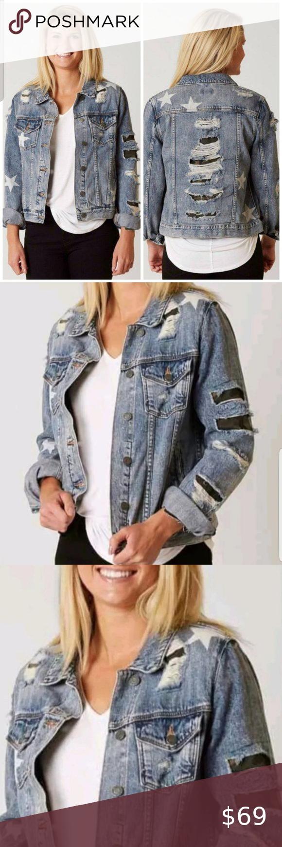 Miss Me Stars Camo Distressed Jean Jacket Military Distressed Jean Jacket Distressed Jeans Jean Jacket [ 1740 x 580 Pixel ]
