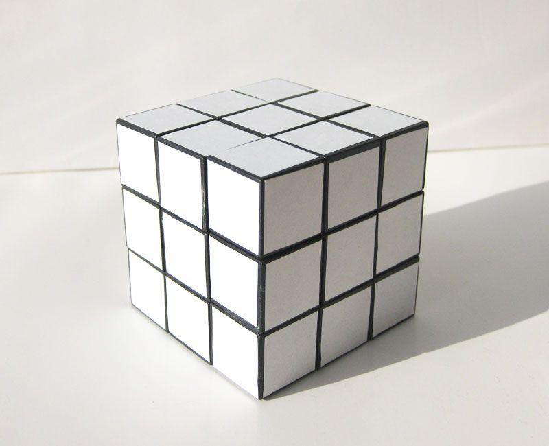 Zen Rubik S Cube Blanc Art Furniture Et Noir