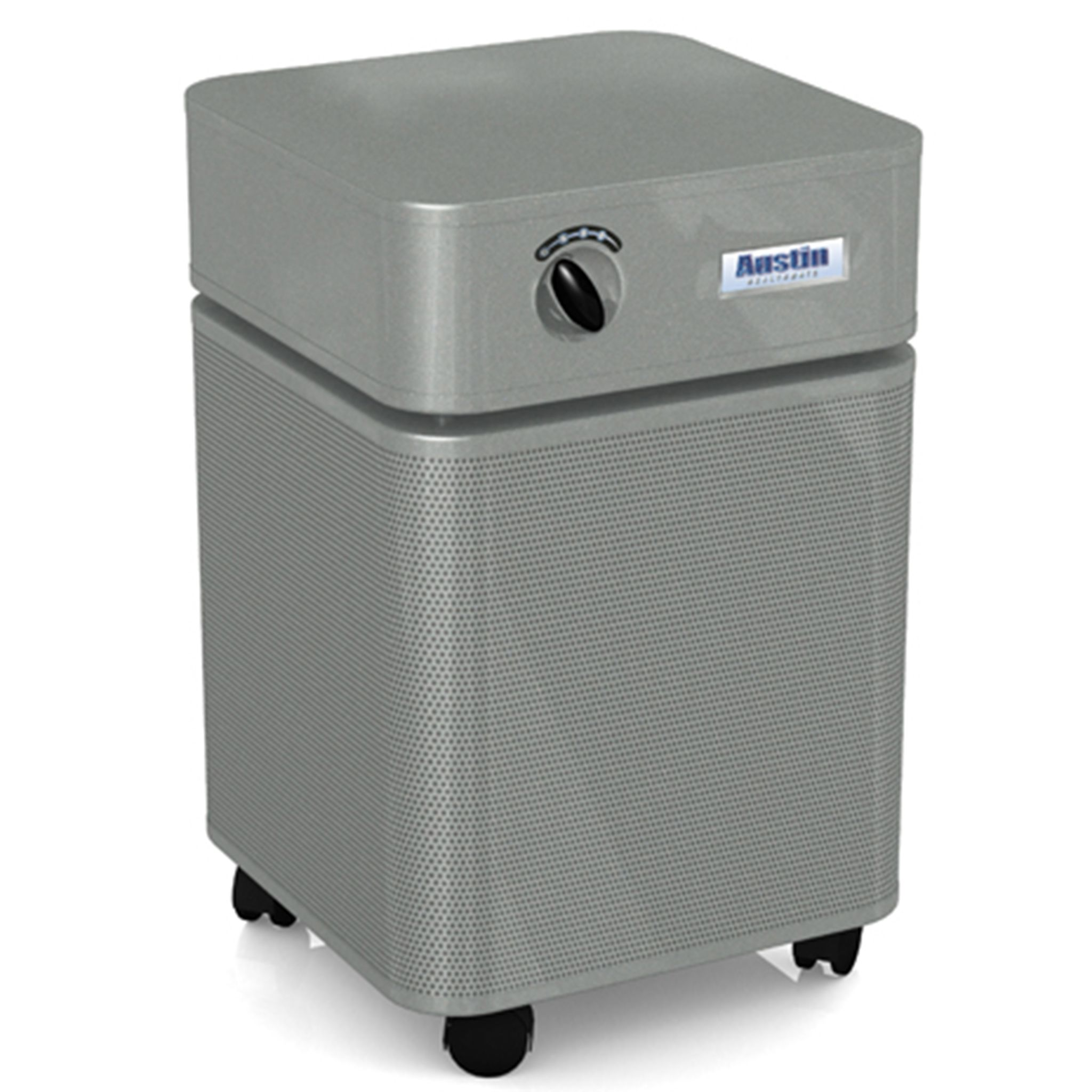The Austin Air Healthmate in Silver Austin air purifier