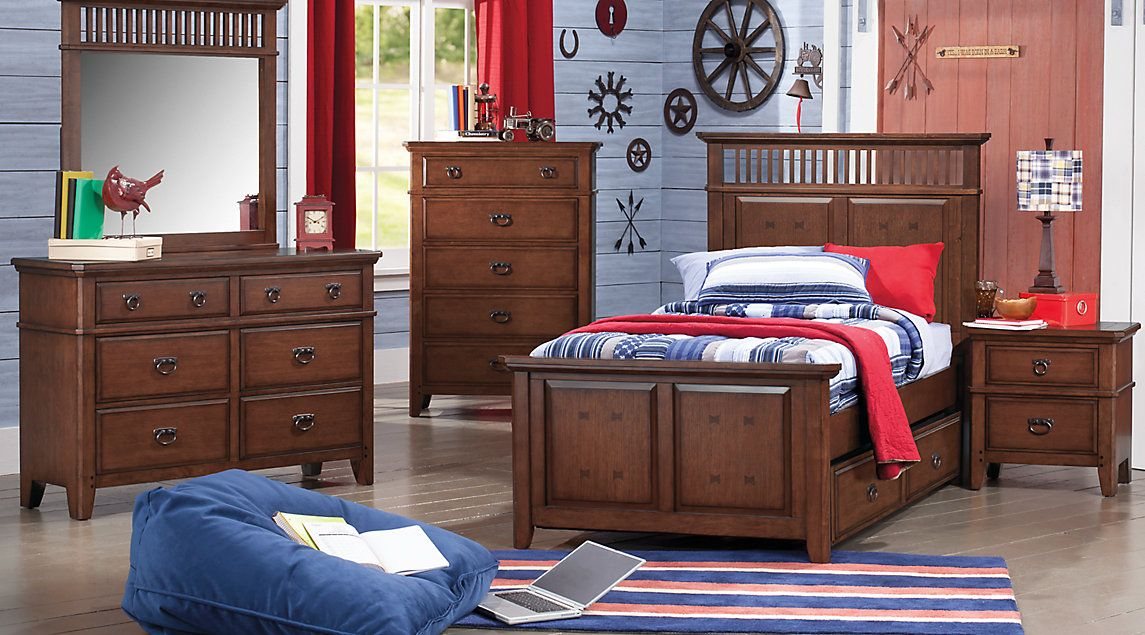 Affordable Panel Twin Bedroom Sets Boys Room Furniture