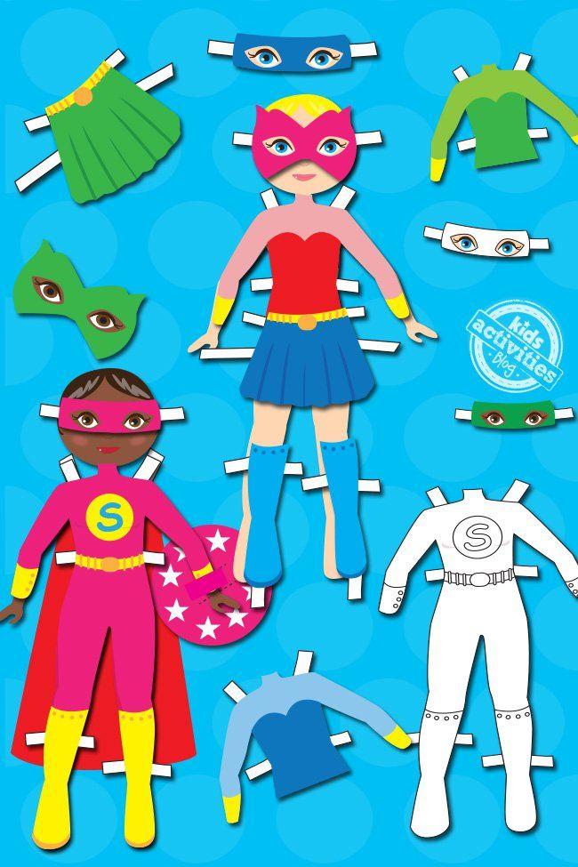 25+ Superheroes dress up games information