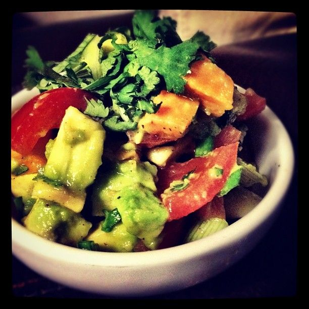 @Monica Shaw This looks so tasty.  Did you eat it as a salad?
