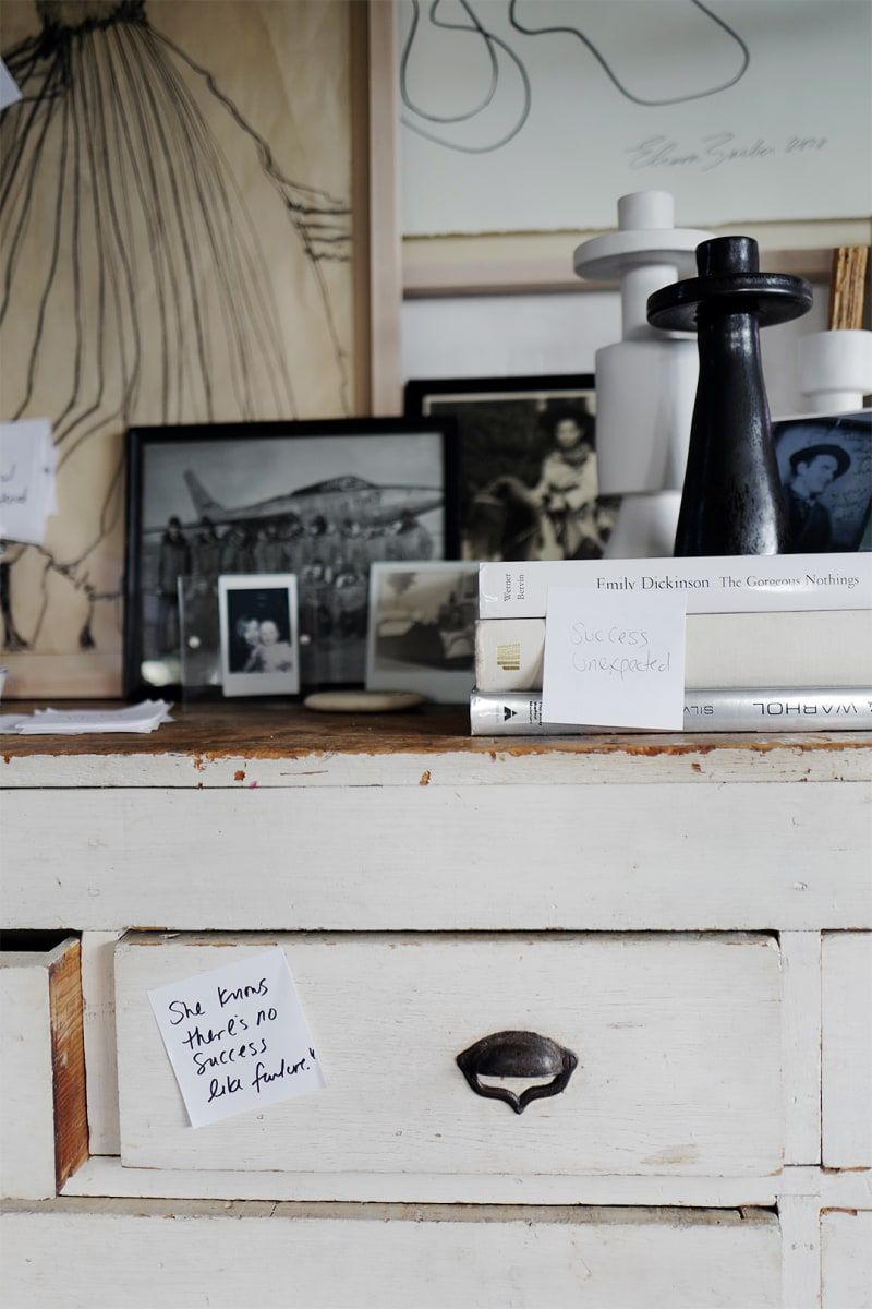 Leanne Ford S Makeshift Office Features A Simple Reno Idea Home