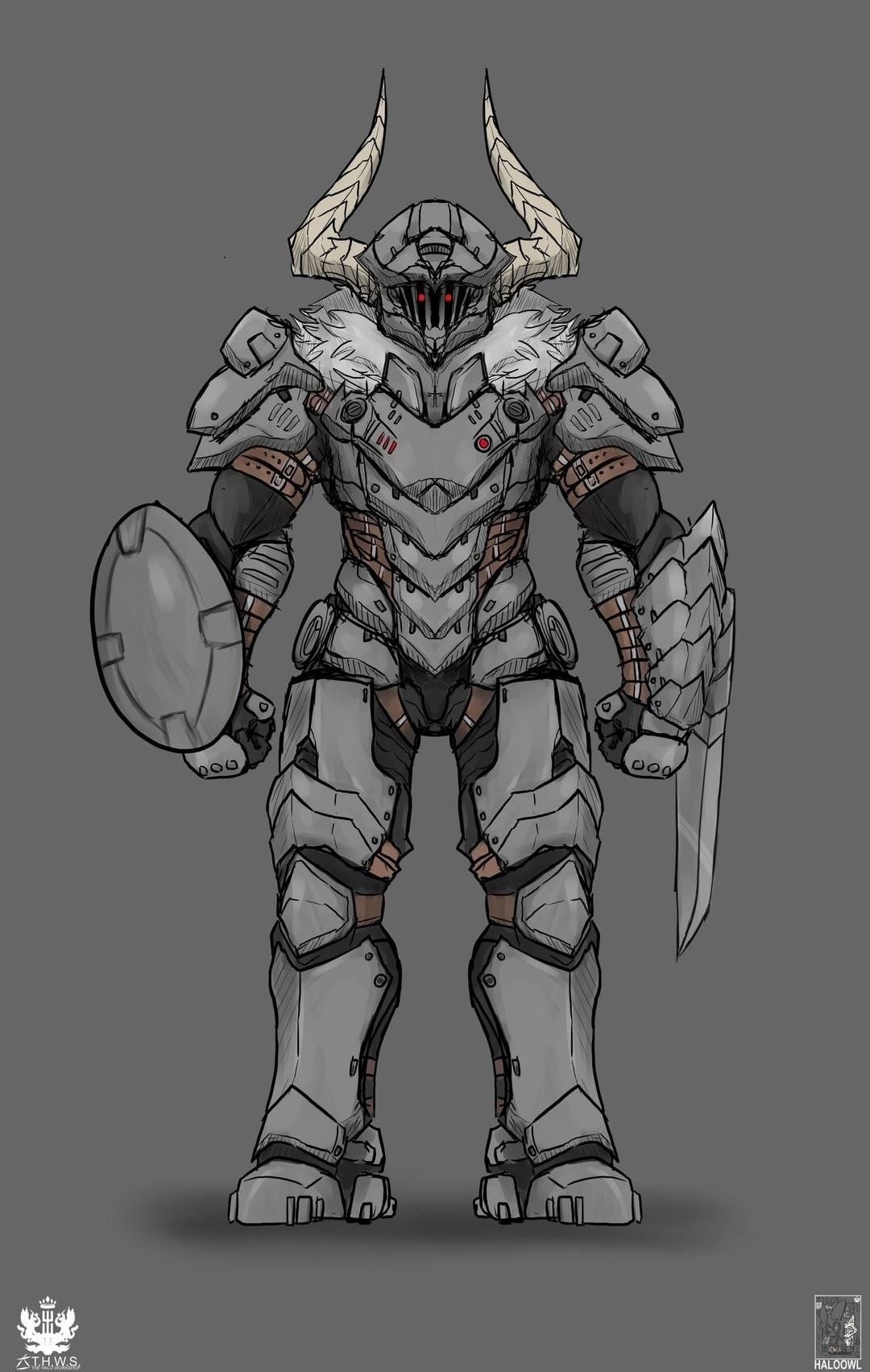 Doomslayer And Goblinslayer Slayer Anime Fantasy Character