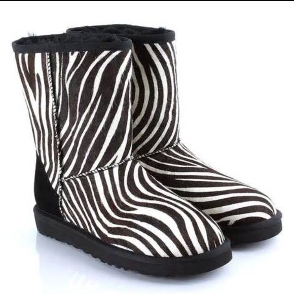 7b18f215384 Zebra Uggs sz 7. Like new condition PRODUCT DETAILS Take a walk on ...