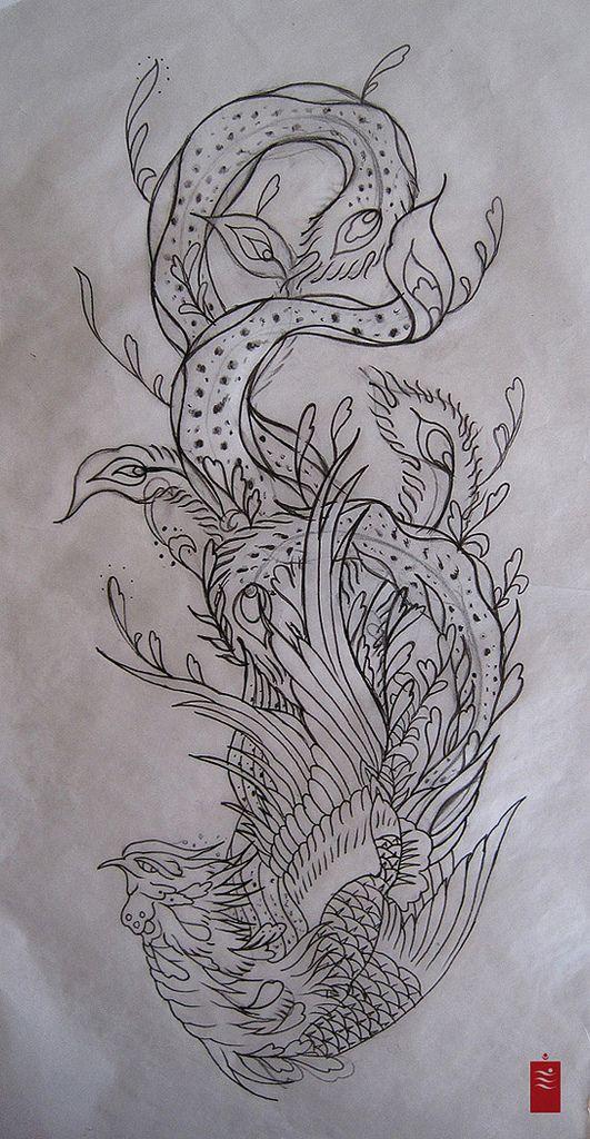 Thearthunters Phoenix Tattoo Japanese Tattoo Art Japanese Tattoo Designs