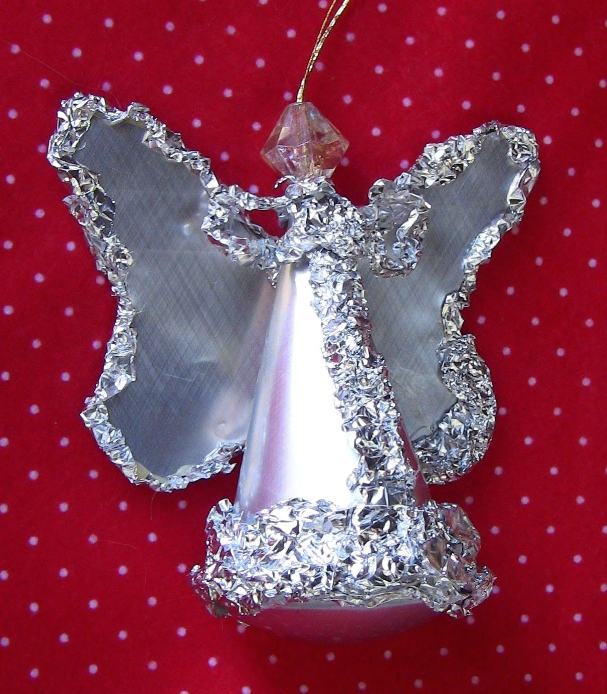 ESPECIAL NATAL - RECICLAGEM -Anjo de lata de coca cola - SPECIAL CHRISTMAS - RECYCLING