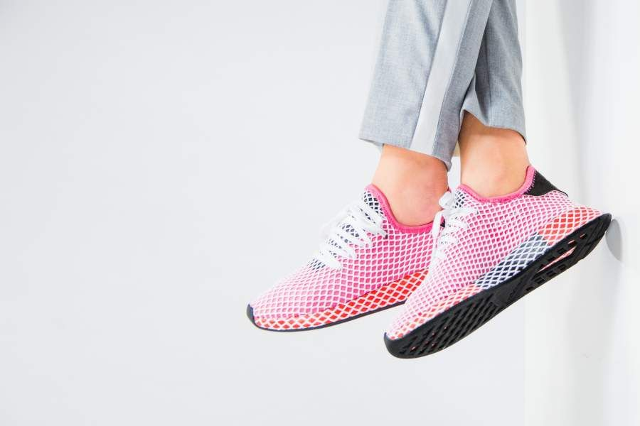 competitive price 193e4 868c0 adidas - Deerupt Runner W (pink  weiß) - CQ2910