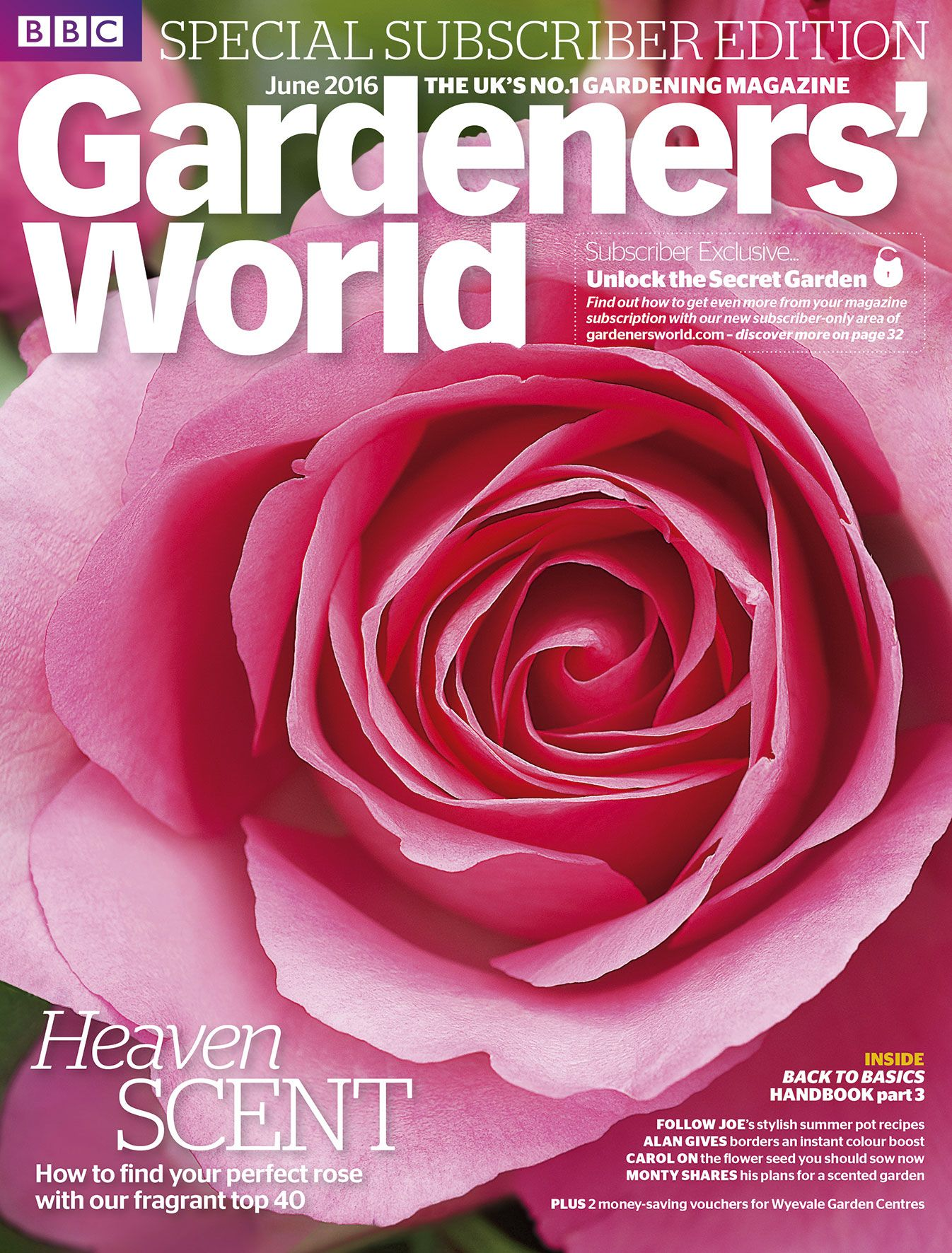 magazines garden pin photo cover alamy gardening january magazine bailey robin andrew by