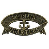 Found it at Wayfair - Mermaid Quarters Sign Wall Décor
