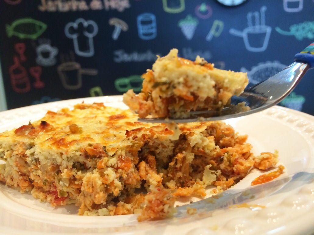 Jantinha de Hoje | Torta de Frango Dukan