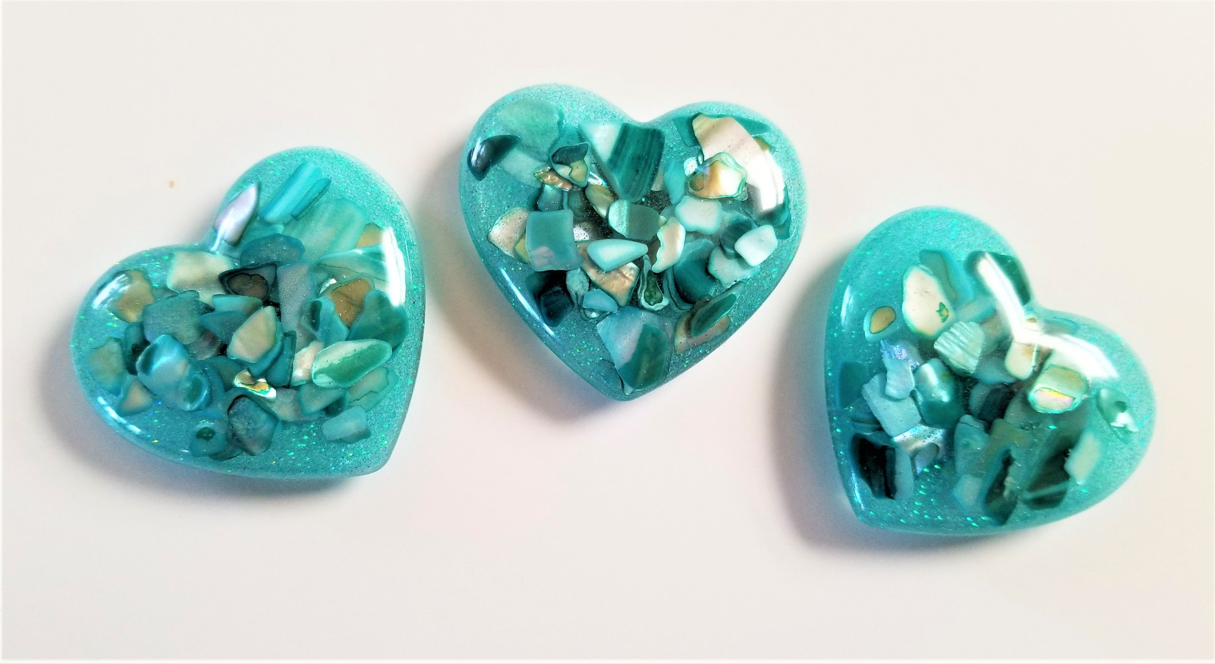Crushed Sea Shell Magnets How To Make Resin Epoxy Resin Art Resin