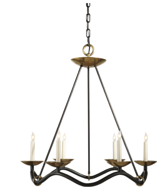 Choros chandelier aged iron and brass circa lighting light it choros chandelier aged iron and brass circa lighting mozeypictures Gallery