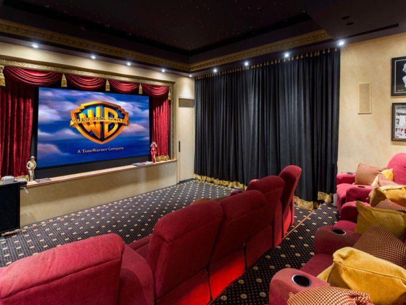 Major Hometheaterideas Home Theater Curtains Home Theater