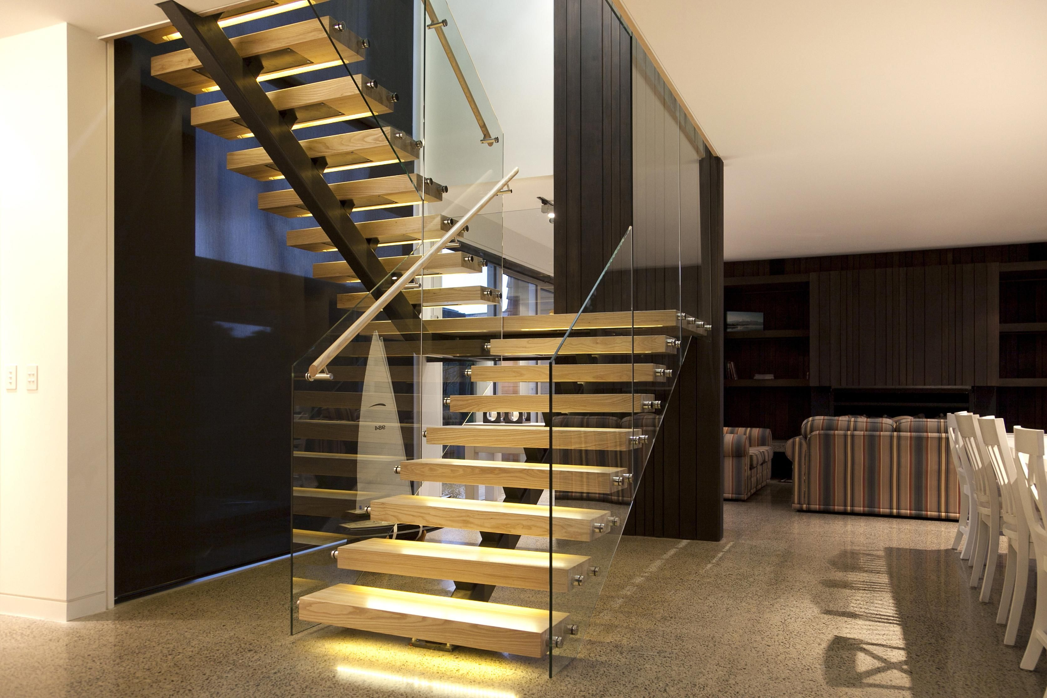 Best U Shaped Staircase Home Stairs Design U Shaped Stairs 400 x 300