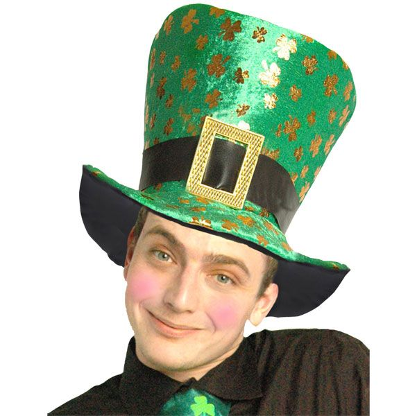 St Patricku0027s Day Shamrock Top Hat £2.99 Sc 1 St Pinterest. image number  29 of stovepipe ... d5d5d1e180f6