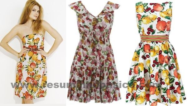 Moda verao vestidos estampados