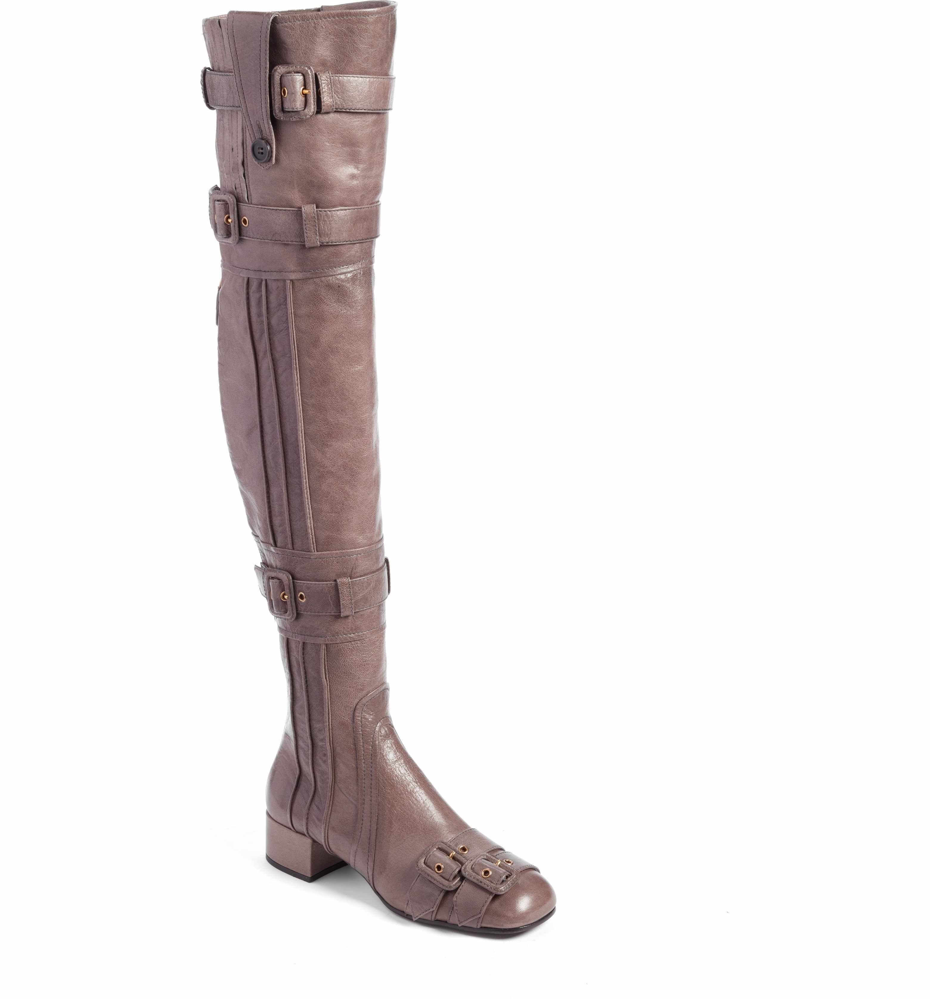 f6ecf01d3fa Main Image - Prada Over the Knee Boot (Women)