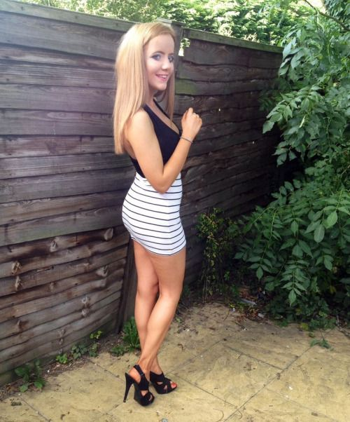 Blonde Teen Pumps 31