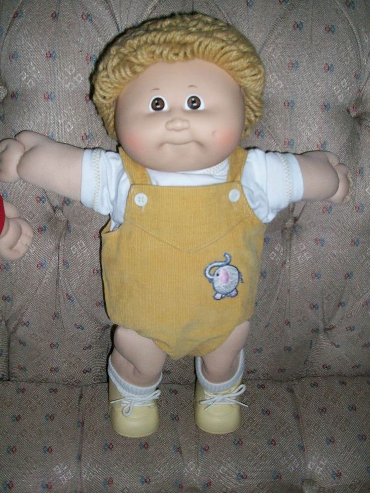 CABBAGE PATCH KIDS BABY DOLL DIAPERS COLECO VINTAGE 1984 NEW