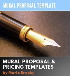 ArtistS Wall Mural Proposal Template And Price Sheet  Proposal