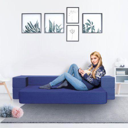 Terrific Granrest 8 3 In 1 Gel Memory Foam Mattress Sofa Bed Short Links Chair Design For Home Short Linksinfo