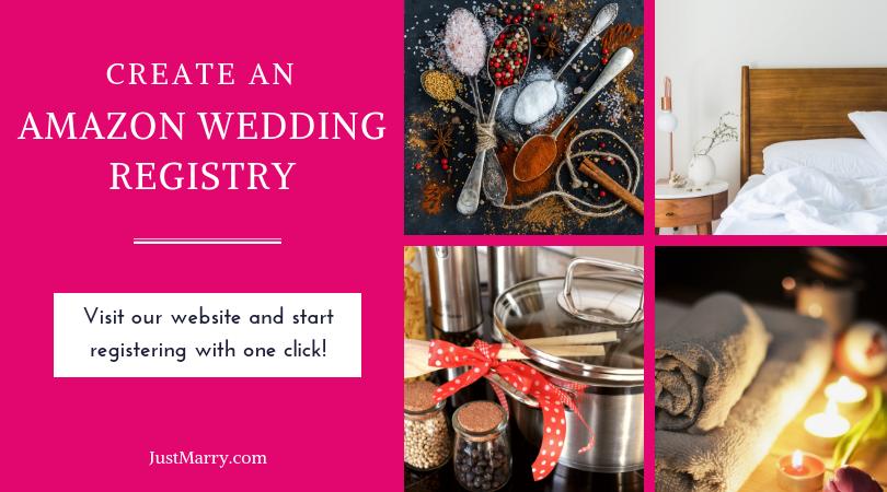 Amazon wedding registry Wedding registry tips Just