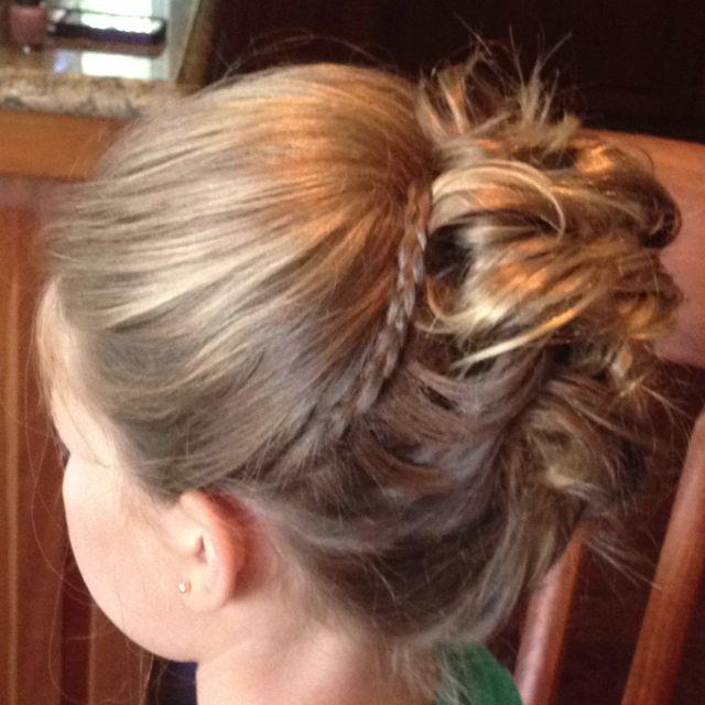 Wedding Hairstyles For Jr Bridesmaids: Junior Bridesmaids Hair!!
