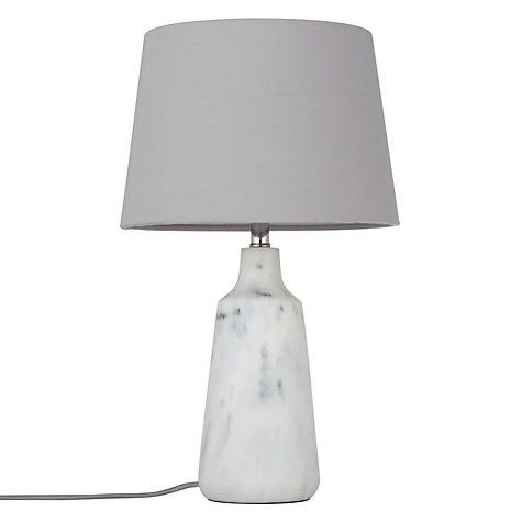 30 affordable home updates from 6 john lewis marbles and buy john lewis croft collection linney marble finish table lamp from our desk table lamps range at john lewis aloadofball Choice Image